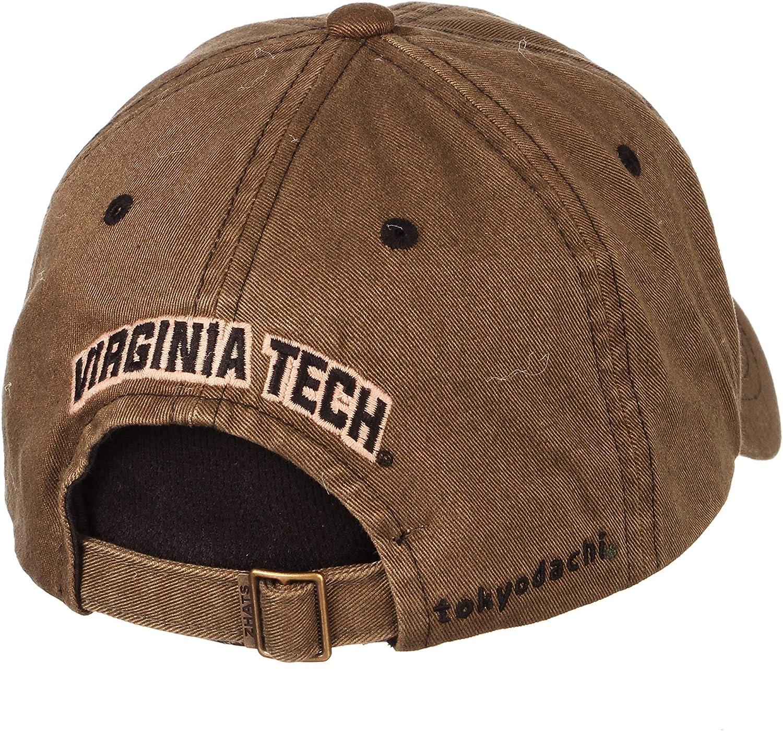 NCAA Zephyr Virginia Tech Hokies Mens Hayashi Relaxed Hat Adjustable Camo