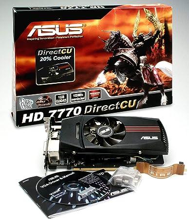 Amazon.com: ASUS hd7770-dc-1gd5-v2 tarjeta gráfica AMD ...