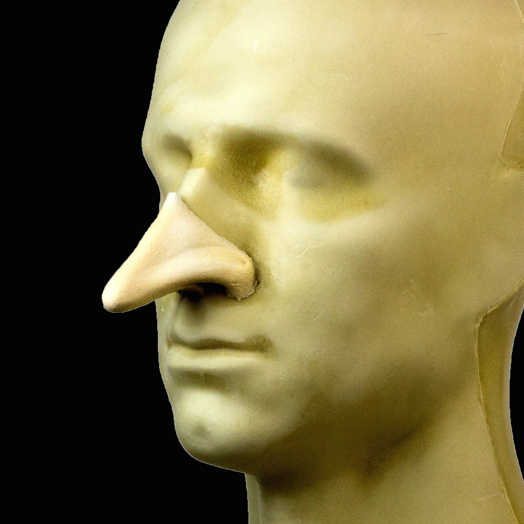 Rubber Wear Foam Latex Prosthetic - Large Cyrano Nose FRW-003 - Makeup and Theater FX