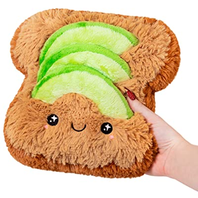 "Squishable / Mini Comfort Food Avocado Toast - 7"": Toys & Games"
