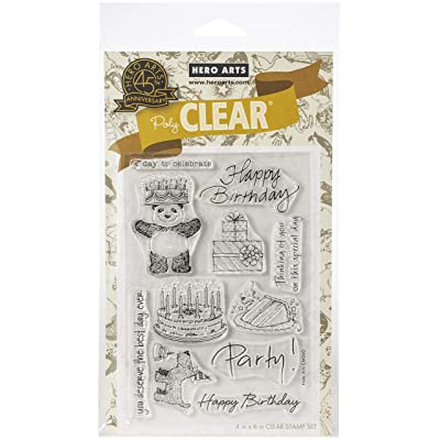 Hero Arts CM360 Clear Stamps, from The Vault Birthday: Arts, Crafts & Sewing
