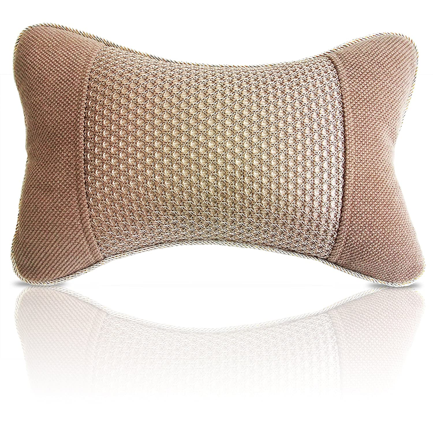 dot therapeutic detail gold pillows and place throw chiropractic anthro threshold pillow polka foil the