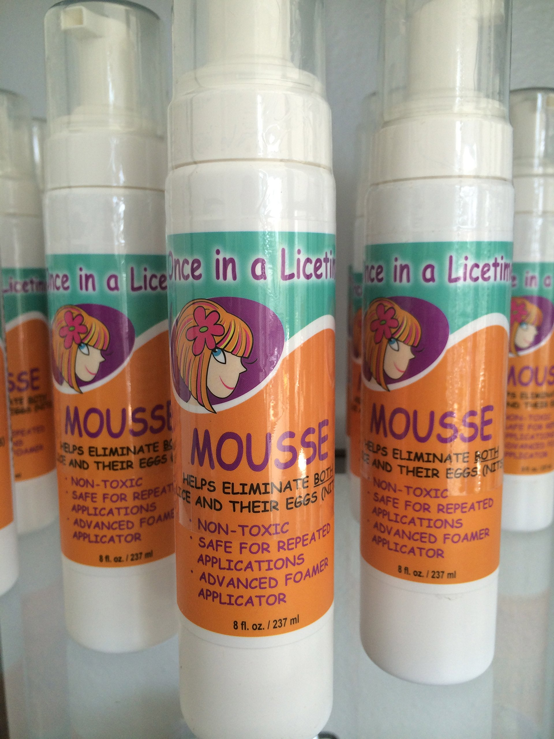 Natural Enzyme Head Lice Removal Treatment with Mousse Applicator