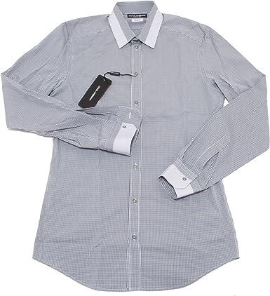 4695O camicia manica lunga gold DOLCE & GABBANA uomo shirt men [39 (15 1/2)]: Amazon.es: Ropa y accesorios