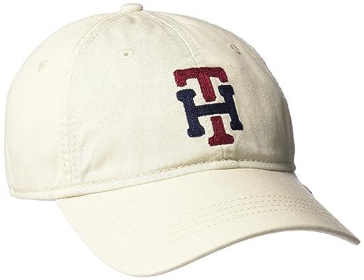 c5a1da75 Tommy Hilfiger Men's Water Dad Baseball Cap, Stone, One Size: Amazon ...