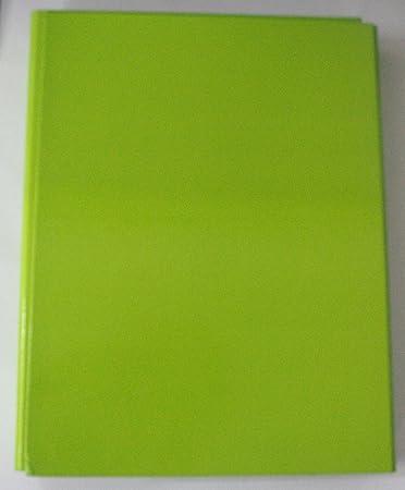 Carpeta de anillas suave color verde claro A4 Pack de 1pz: Amazon.es: Bricolaje y herramientas
