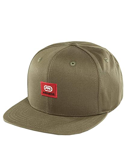 Ecko Unlimited Peter Patch Olive Snapback Cap Basecap OSFA One ...