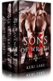 Sons Of Wrath Box Set:  Books 1-3