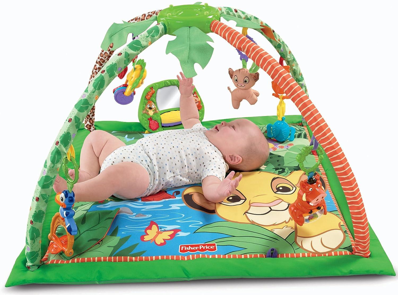 amazoncom fisherprice disney baby simba's kingsized play gym  - amazoncom fisherprice disney baby simba's kingsized play gym(discontinued by manufacturer) baby