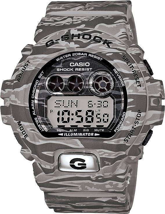 [カシオ] 腕時計 ジーショック Camouflage Series GD-X6900TC-8JF グレー