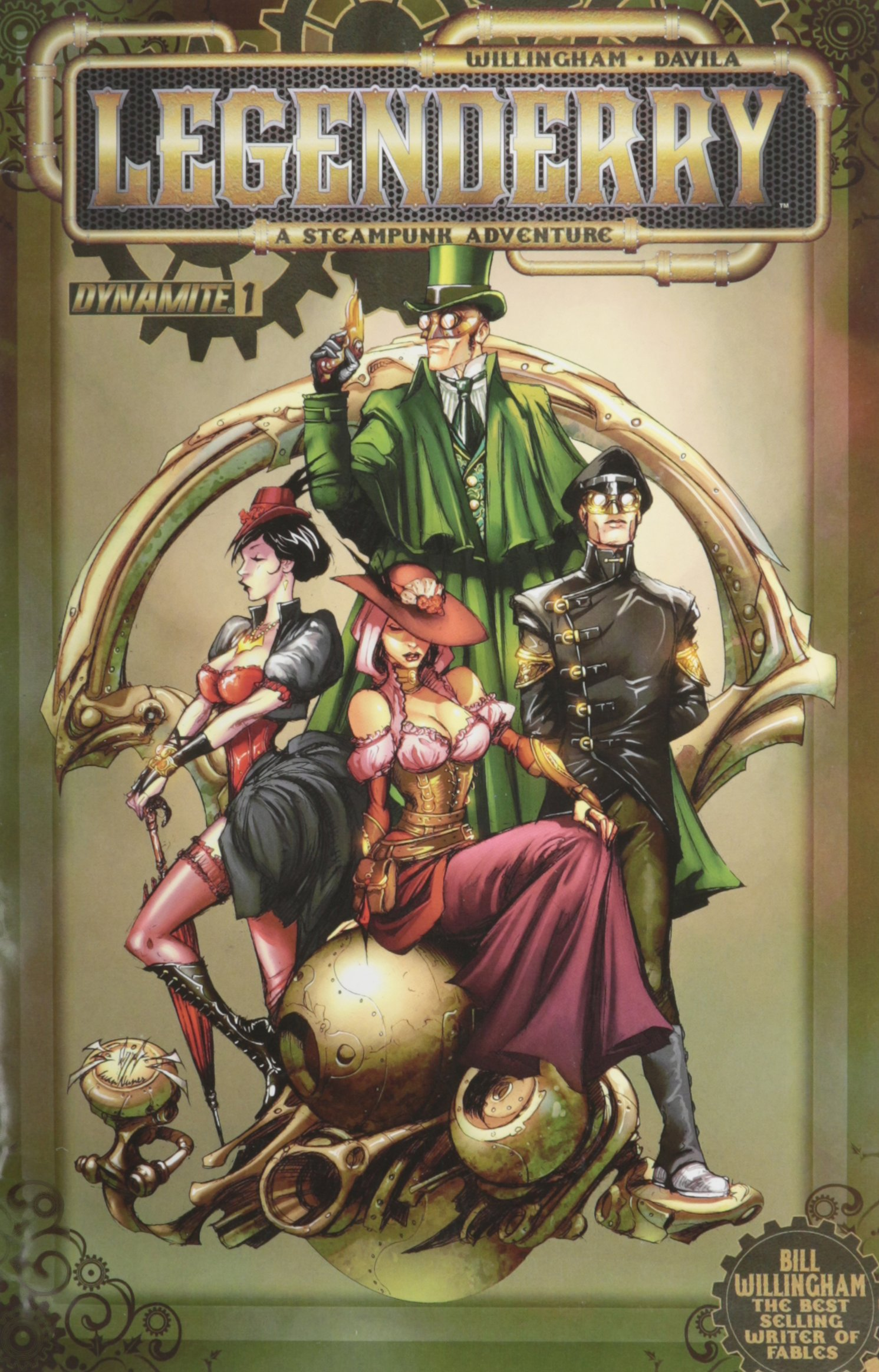 Read Online Legenderry a Steampunk Adventure #1 (Regular Cover, Chosen Randomly) ebook