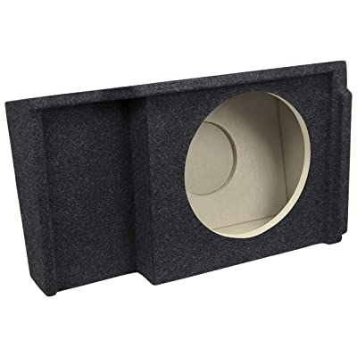 "Bbox A151-12CP Single 12"" Sealed Carpeted Subwoofer Enclosure - Fits 1999-2007 Chevrolet/GMC Silverado/Sierra Extended Cab: Car Electronics"