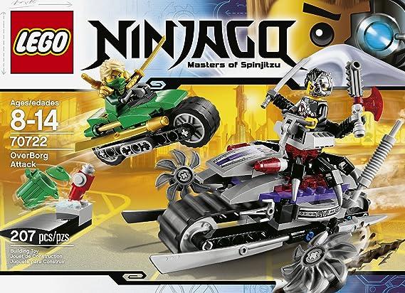 Amazon.com: Juguete LEGO Ninjago 70722 OverBorg Attack: Toys ...
