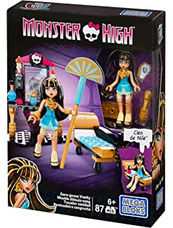 Mega construx monster high cleous goregeous vanity playset with deco chambre monster high - Deco chambre monster high ...