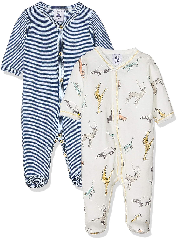 Camiseta de Pijama para Beb/és Petit Bateau Lot Db Gar