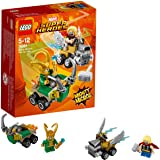 LEGO UK - 76091 Marvel Super Heroes Mighty Micros: Thor versus Loki Fun Superhero Toy for Kids