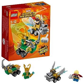 De MicrosThor Lego Mighty Loki Jeu Marvel Heroes Contre Super 76091 Construction oerWCBdx