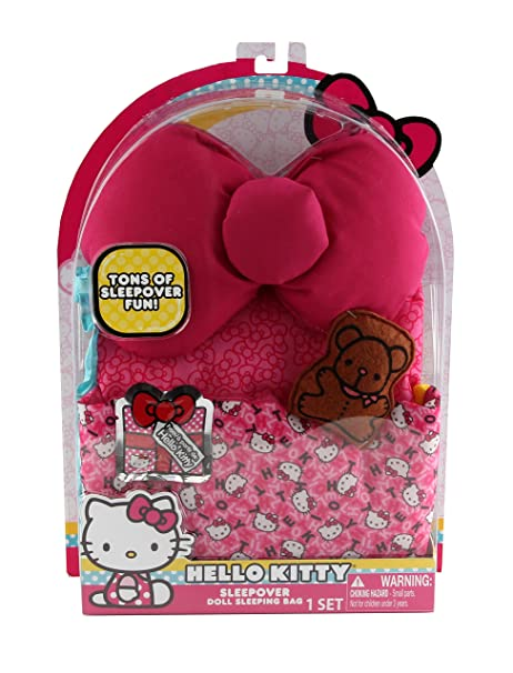 6df8e246e7 Image Unavailable. Image not available for. Color  Hello Kitty Large Doll  Sleeping Bag