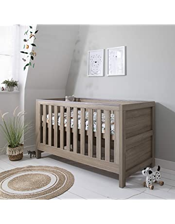 Tutti Bambini Modena Nursery Cot Bed - Converts into a Junior and Sofa Bed (Oak)