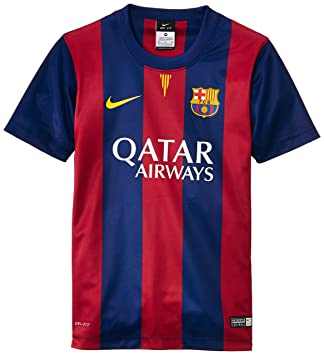 Nike Fc Barcelona Home Supporters - Camiseta de fútbol, color azul, talla XS