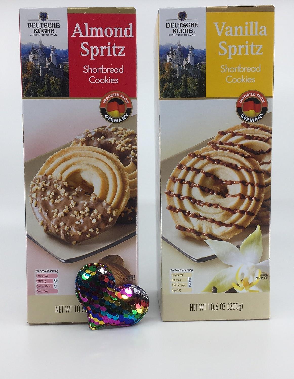 Amazon Com Deutsche Kuche Variety Shortbread Cookie Bundle Almond