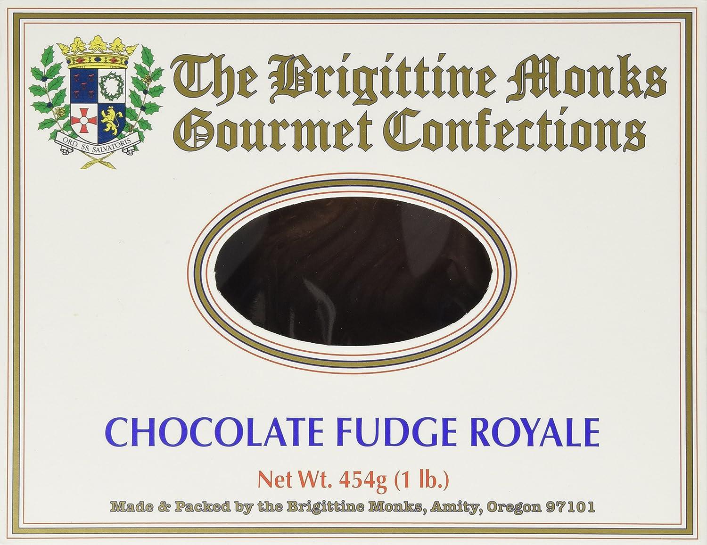 Amazon.com : Chocolate Fudge Royale No Nuts: Brigittine Monks 1lb ...