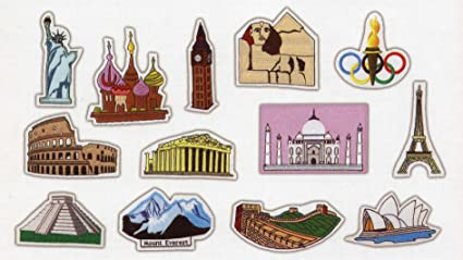 Fao Schwarz World Map.Amazon Com Fao Schwarz The Big Map Add On Set World Icons