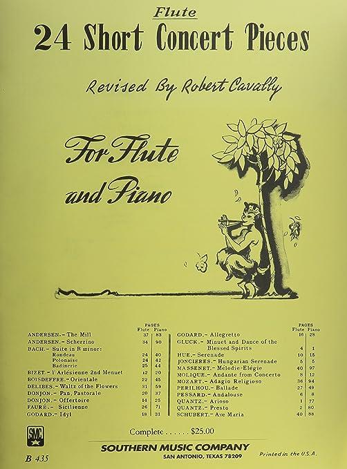 Unaccompanied Flute 24 Flute Concert Studies