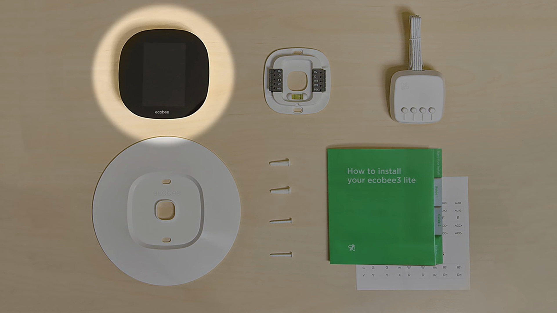 Installing Ecobee3 Lite Smart Thermostat