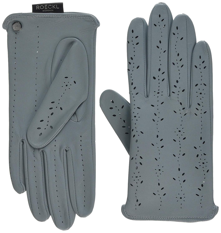 Roeckl Young Driver bleu Autofahrer Handschuh Leder Handschuhe ungefüttert blau