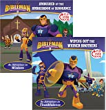 Ambushed by the Ambassador of Ignorance/Wiping Out the Whiner Brothers, Flip-Over Book (Bibleman)