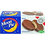 MoonPie Mini Chocolate Marshmallow Sandwich - 1oz, 12Count Box (Pack of 12 Boxes, 144Count Total) | Small Bite Size…