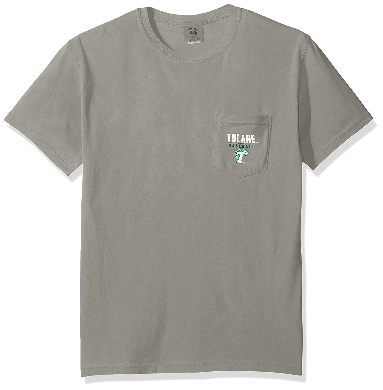 激安人気新品 NCAA Tulane B01MQWQ6Z6 Green Tulane Wave野球フレーム半袖快適カラーポケットTシャツ NCAA、グレー、グレー B01MQWQ6Z6, ビーロード:8ebaf03f --- a0267596.xsph.ru
