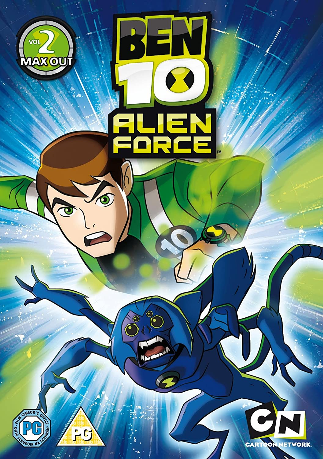 Ben 10  Alien Force Volume 2  Max Out DVD 2010 Amazoncouk