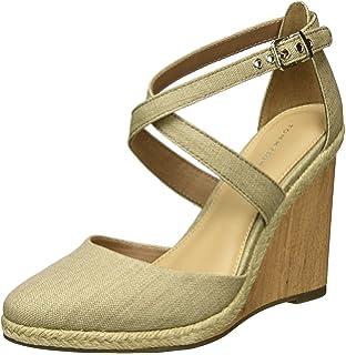 921835987e585e Tommy Hilfiger Women s Int E1285del 5c Wedge Heels Sandals  Amazon ...