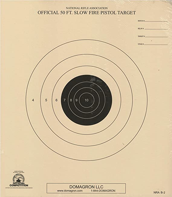 It's just a photo of Nra B-8 Target Printable pertaining to 50 yard