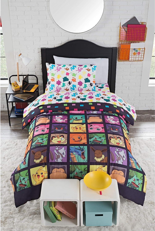 """Pokémon, """"Kanto Favorites"""" Twin Bed Set"""