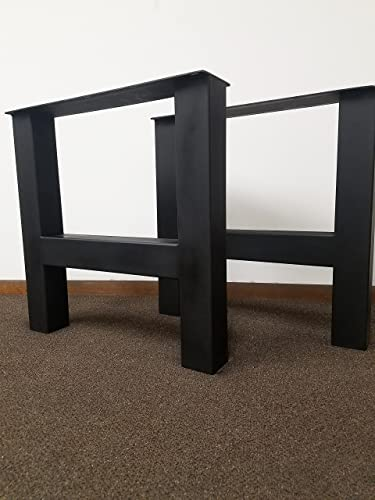 Metal Table Legs, H Frame Style   Any Size And Color!