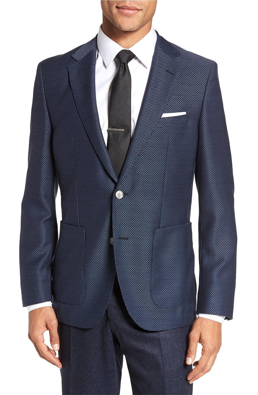 [ボス] メンズ ジャケットブルゾン BOSS Janson Classic Fit Wool Blazer [並行輸入品] B07DVZKHTH 36 Regular