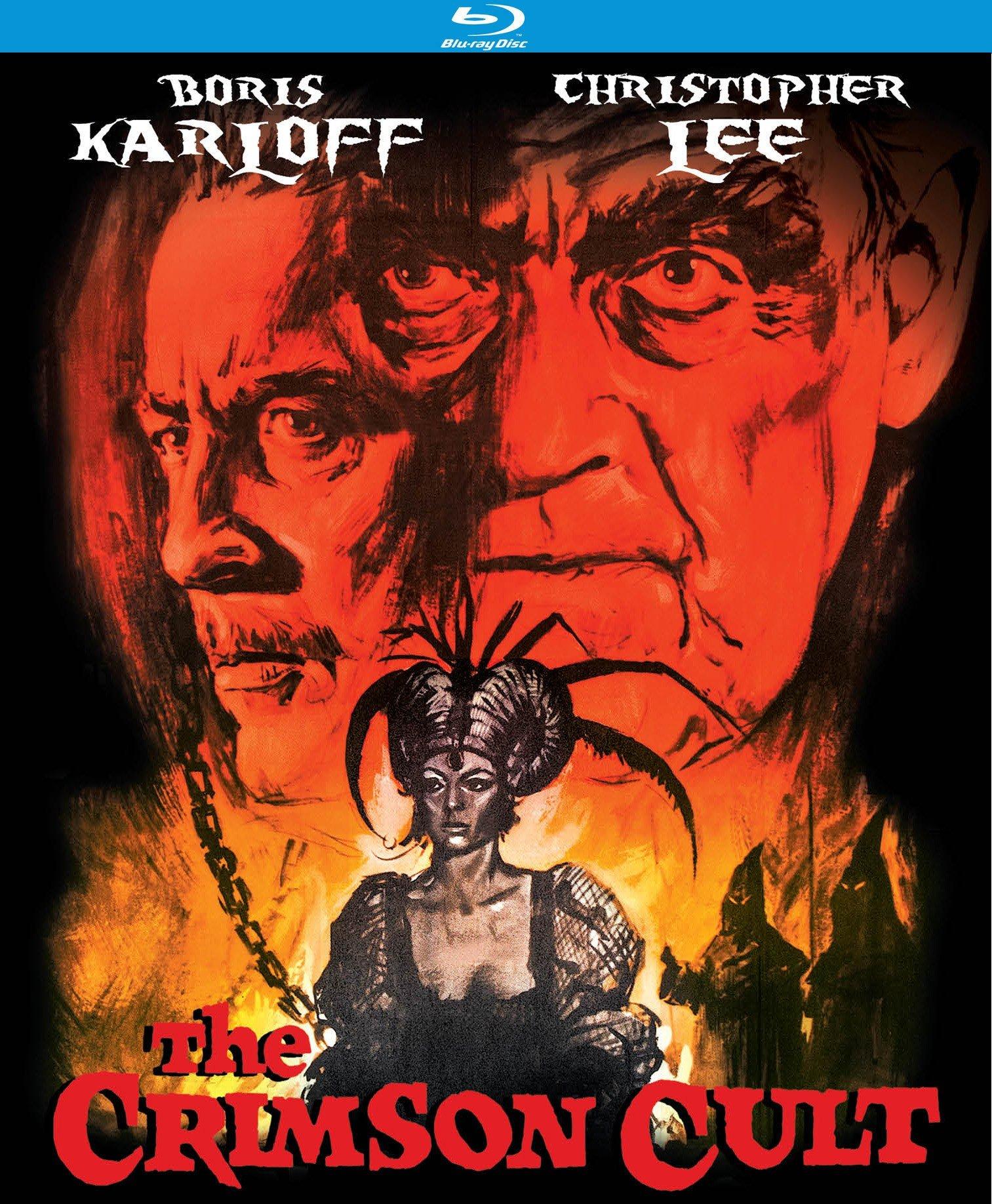 Blu-ray : The Crimson Cult (Curse of the Crimson Altar) (Blu-ray)