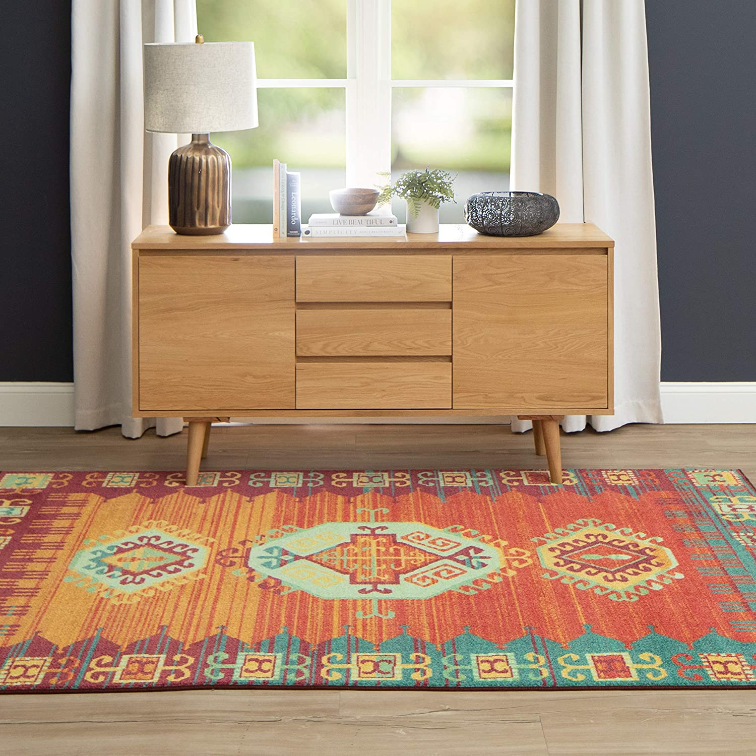 Mohawk Home Teton Precision Area Rug, Multicolor
