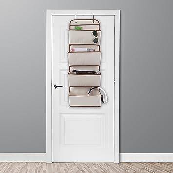 Amazoncom Over The Door Organizer 4 Pocket Hanging Storage Saves
