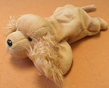 348d156e974 Image Unavailable. Image not available for. Color  TY Beanie Babies Spunky  the Cocker Spaniel Dog Plush Toy Stuffed Animal ...
