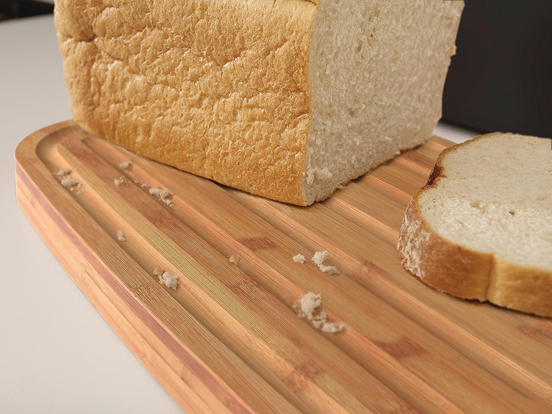 21.5 x 35.5 x 17.8 cm Joseph Joseph Bread Bin Paniere Nero Acciaio