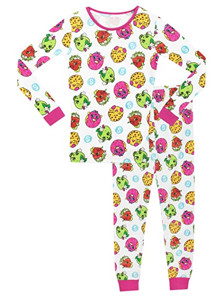 Shopkins - Pijama para niñas - Shopkins - Ajuste Ceñido - 11 - 12 Años