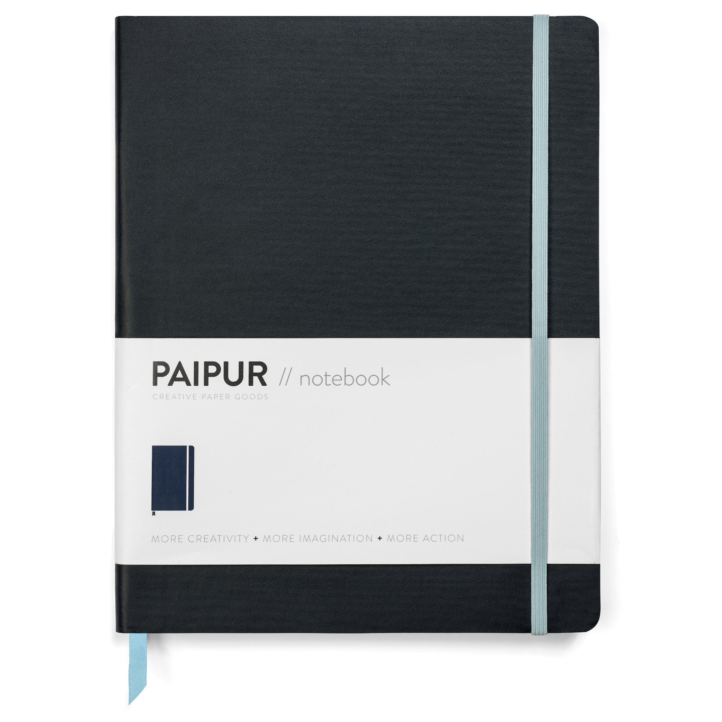 PAIPUR Notebook ~ Dotted Grid and Ruled HYBRID format ~ Color Series NARROW 0.24'' Spacing ~ LARGE 9.75'' x 7.5'' Size Journal ~ Classic Style Softcover ~ Luxe 100GSM Paper for All Pens with No Bleed by PAIPUR