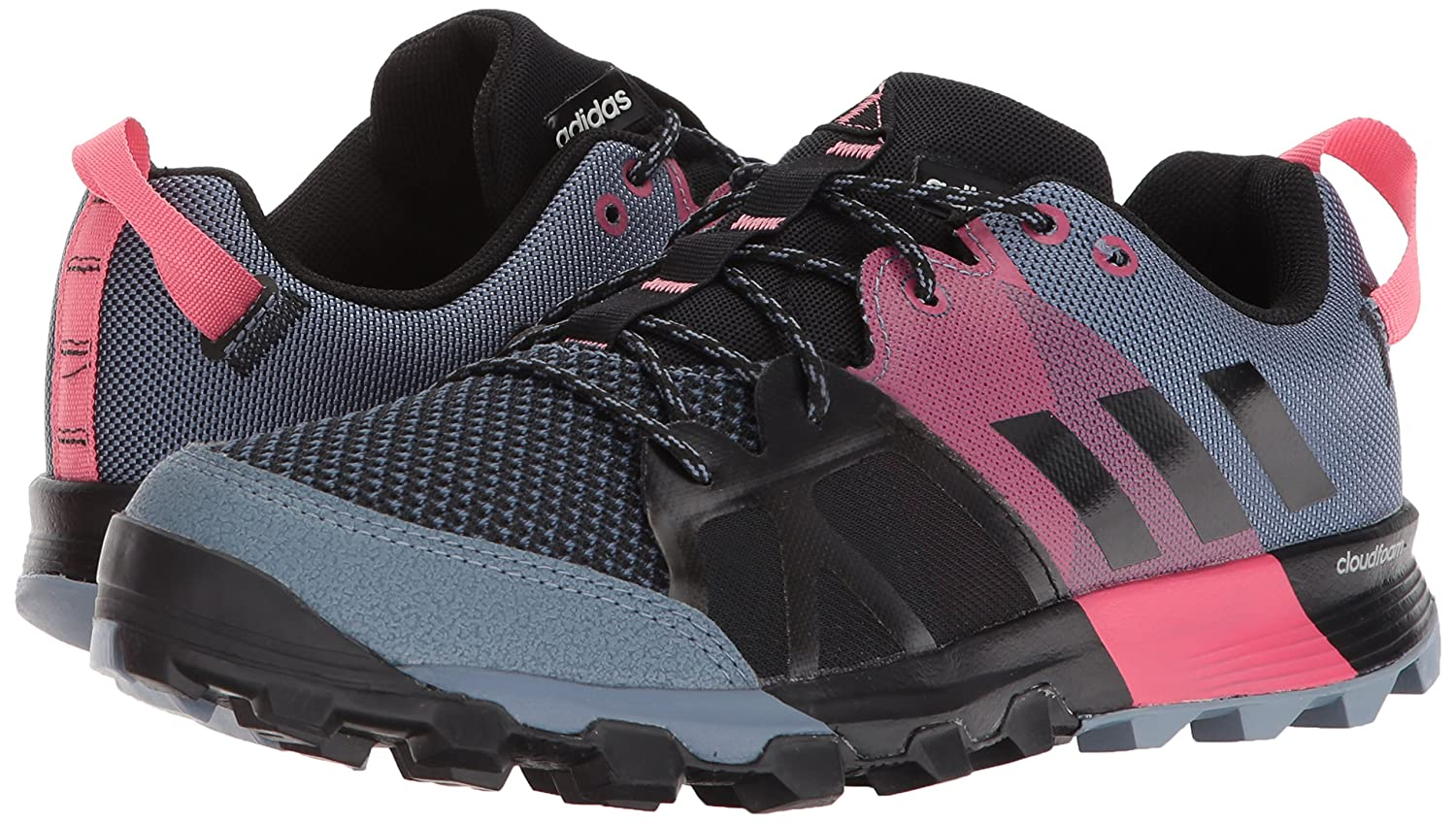 adidas outdoor Women's Kanadia 8.1 W 7.5 Trail Running Shoe B072YV5P13 7.5 W M US|Raw Steel/Off White/Real Pink 6423c4