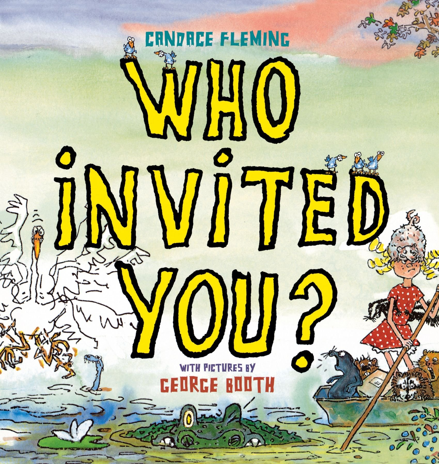 Read Online Who Invited You? pdf