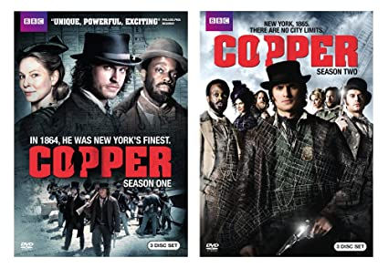 Amazon com: Copper Complete Series (2pack/Giftset/DVD): Various