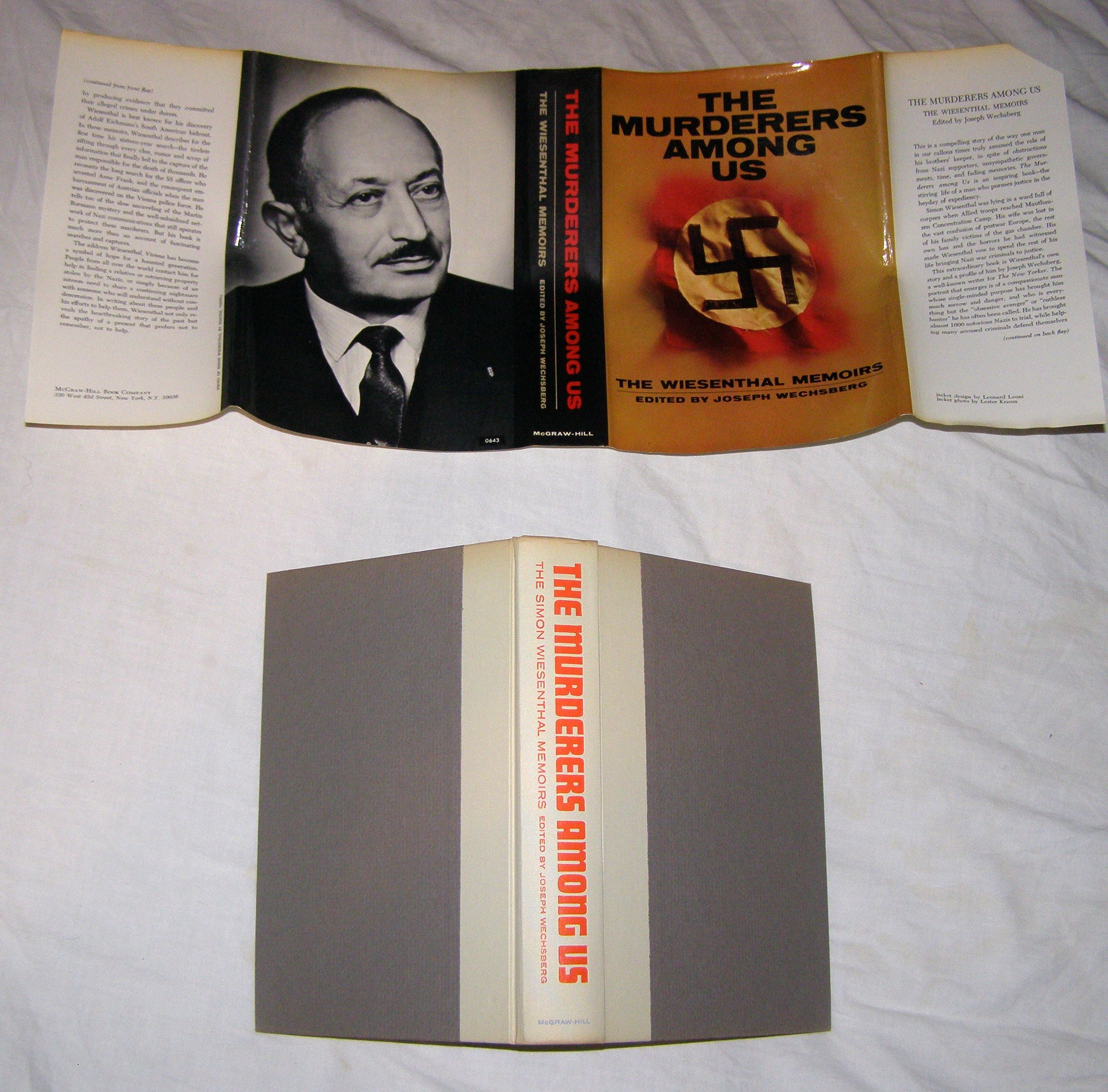 an analysis of the book the sunflower written by simon wiesenthal After the trial simon wrote a book about eichmann simon didn't spend time with his daughter since he was busy bringing nazis to justice  the sunflower essay.
